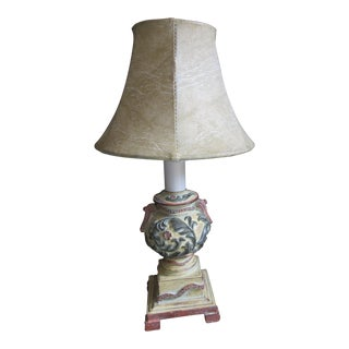 Petite Chinese Neoclassical Urn Table Lamp For Sale