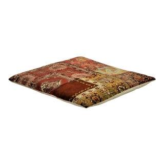Luxury Patchwork Floor Pillow For Sale