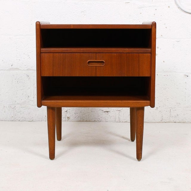 Teak Danish Modern End Tables by Falster - Pair - Image 3 of 6