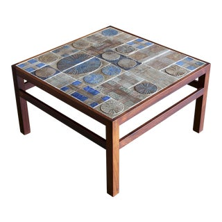 1960s Tue Poulsen & Willy Beck Table For Sale