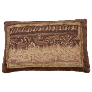 18th Century Tapestry Pillow For Sale