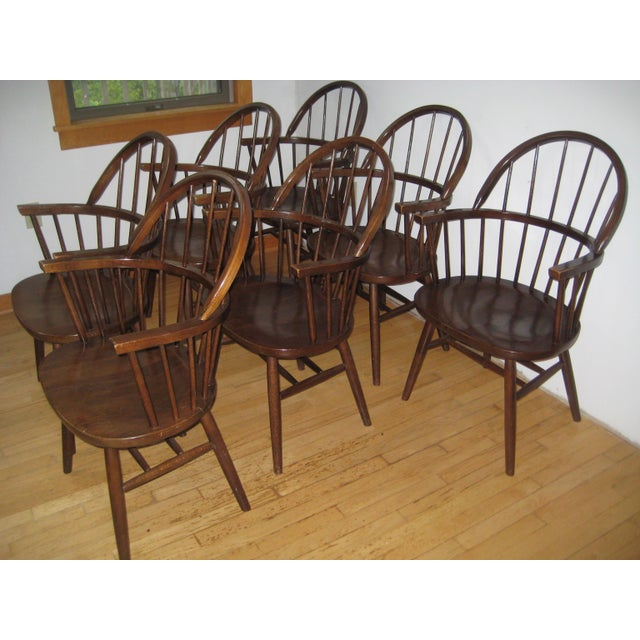 Mid-Century Boling Chairs - Set of 7 For Sale - Image 6 of 8