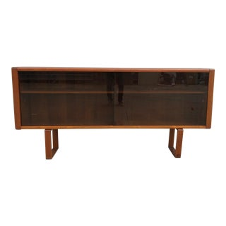 1970s Danish Modern Teak Credenza For Sale