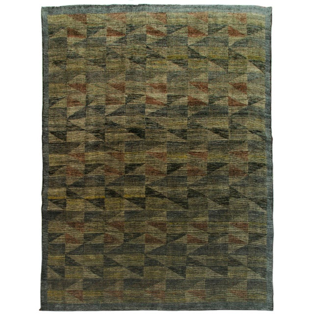 """Not Yet Made - Made To Order Westley - Domino Area Rug - 8'0"""" x 10'0"""" For Sale - Image 5 of 5"""