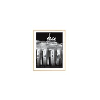 "Jurgen Held Brandenburg Gate, Berlin 72"" X 54"" Poster 2000 Photography For Sale"