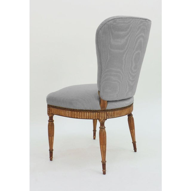 Frederick P. Victoria & Son, Inc. Adam Style Side Chair For Sale - Image 4 of 6