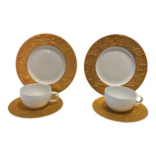 """Magic Flute"" Sarastro Rosenthal ""Tea for Two"" Set, Germany - 6 Piece Set For Sale"