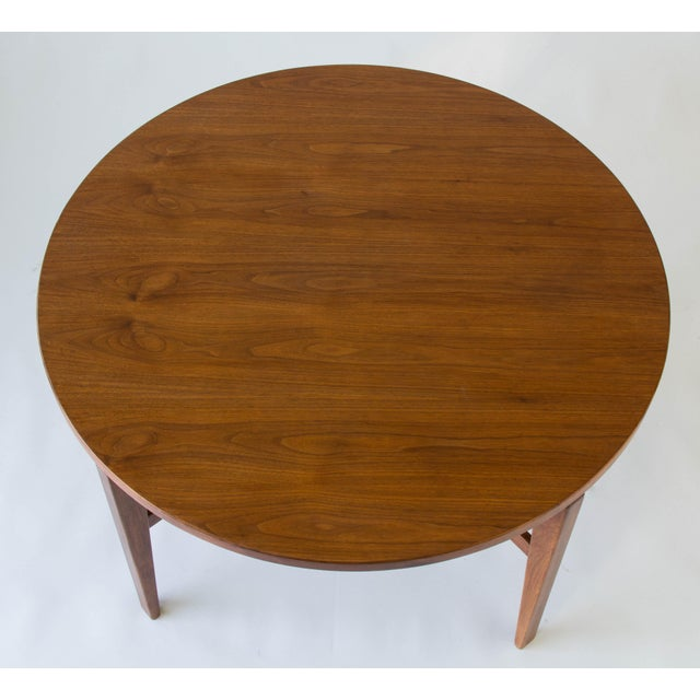 Jens Risom Lazy Susan Game Table For Sale In Los Angeles - Image 6 of 6