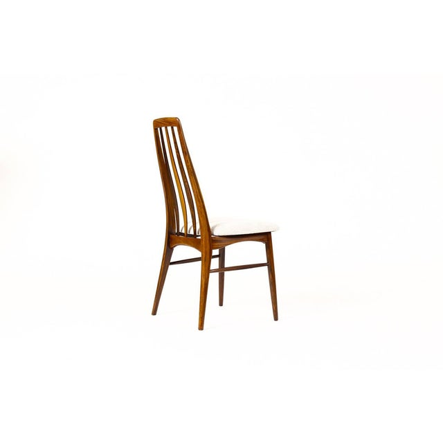 "Wood Danish Modern / Mid-Century ""Eva"" Dining Chairs — Niels Koefoed — Rosewood Frames — Set of 4 For Sale - Image 7 of 11"