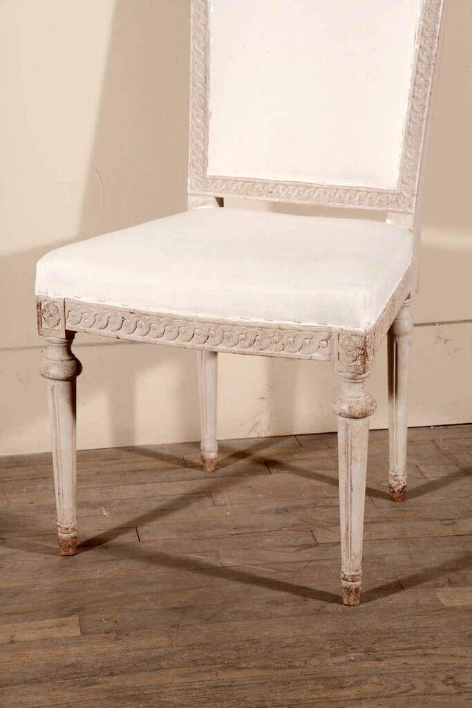 Set Six Swedish Chairs For Sale   Image 4 Of 11