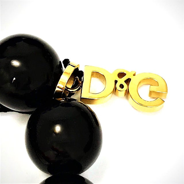Giant Viintage Dolce & Gabbana Necklace With Box and Tags For Sale - Image 4 of 6