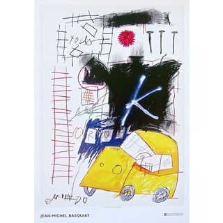 Untitled (1981), 2002 Exhibition Poster, Jean-Michel Basquiat - LARGE For Sale