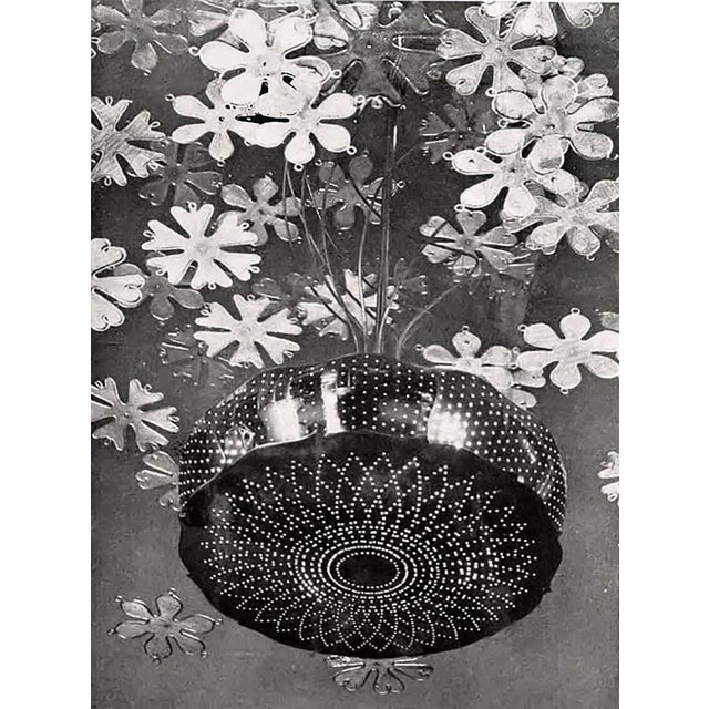 Rare and Important Paavo Tynell 'Fantasia' Snowflake Chandelier for Taito Oy For Sale - Image 9 of 12