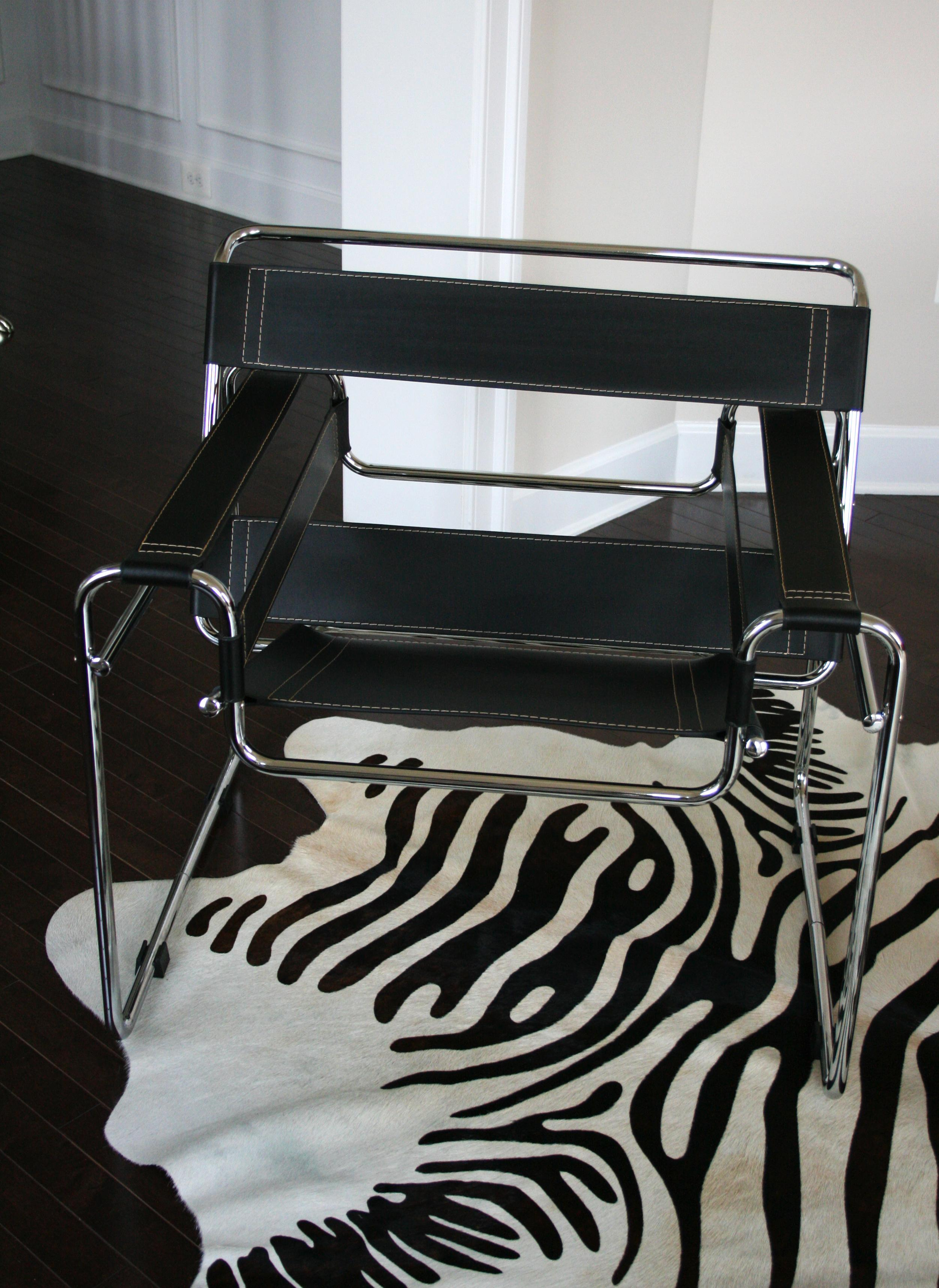 Marcel Breuer Wassily Chair Reproduction   3 Avail   Image 2 Of 3