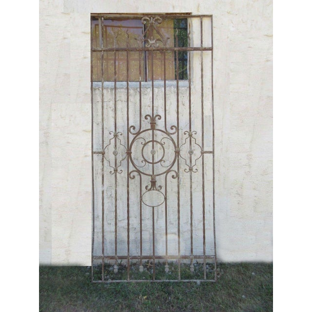Antique Victorian Iron Gate or Garden Fence - Image 2 of 7