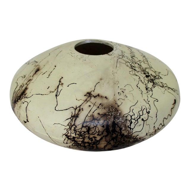 Navajo Artisan Horsehair Vase For Sale