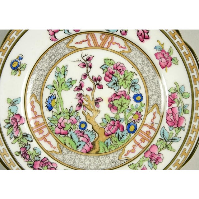 Asian Paragon Indian Tree Plate - Set of 10 For Sale - Image 3 of 7
