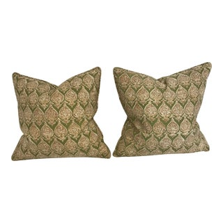 Raoul Textile Pillows - A Pair For Sale