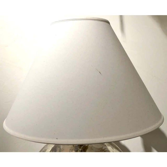 Ralph Lauren Mercury Glass Table Lamp For Sale In New York - Image 6 of 12