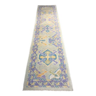 "Bellwether Rugs ""Esme"" Oushak Runner Rug - 2′10″ × 9′8″ For Sale"