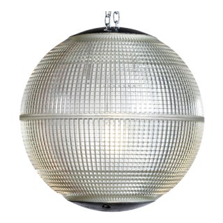 Parisian Holophane Globe Street Light For Sale