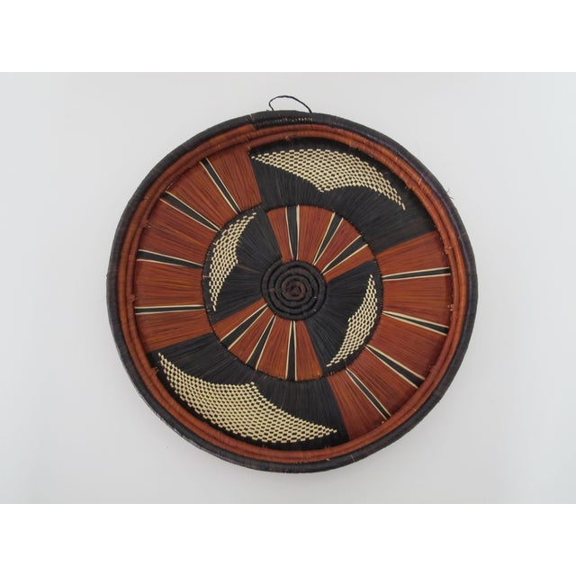 African Reed Basket - Image 2 of 3