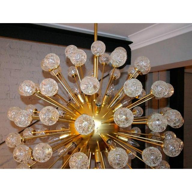 Hollywood Regency Rose Murano Glass Sputnik Chandelier For Sale - Image 3 of 9