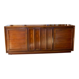 1950s Mid-Century Modern Lowboy Dresser For Sale