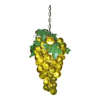 Vintage Grape Hanging Lamp For Sale