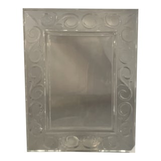 Marquis Waterford Crystal Arabesque Picture Frame For Sale