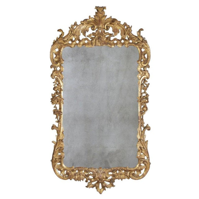 George II Giltwood Mirror, Circa 1750 For Sale - Image 9 of 9