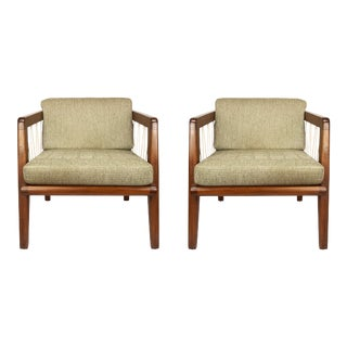 Edward Wormly Midcentury Chairs - a Pair For Sale
