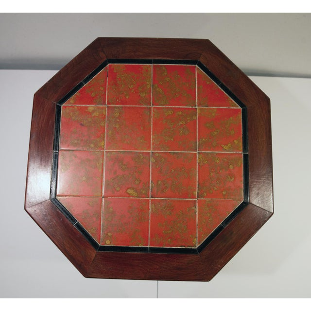 1920's Monterey-Style California Tile Table For Sale - Image 4 of 6