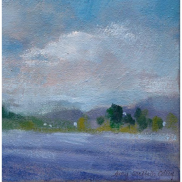 """Lake Carey"" is a made to order print of the original oil painting by artist Amy Griffith Colley. The print is 12""H x..."