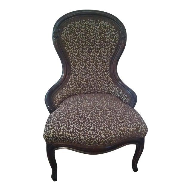 Antique Victorian Slipper Chair - Antique Victorian Slipper Chair Chairish