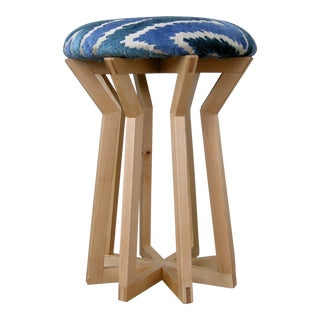 Aster Stool by Hunt & Noyer For Sale