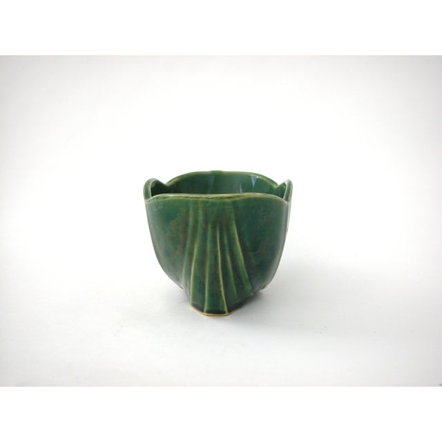 McCoy Green Pottery Vase - Image 10 of 10