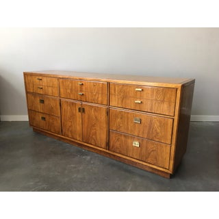 1970s Vintage Mid Century Drexel Consensus Triple Dresser With Mirror Preview