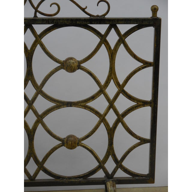Iron Fireplace Screen - Image 4 of 11