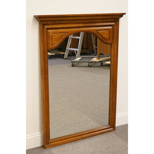 Traditional Late 20th Century Sumter Cabinet Italian Neoclassical Inspired Wall Mirror For Sale - Image 3 of 7