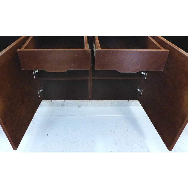 Maitland-Smith Tessellated Stone Credenza For Sale - Image 3 of 6