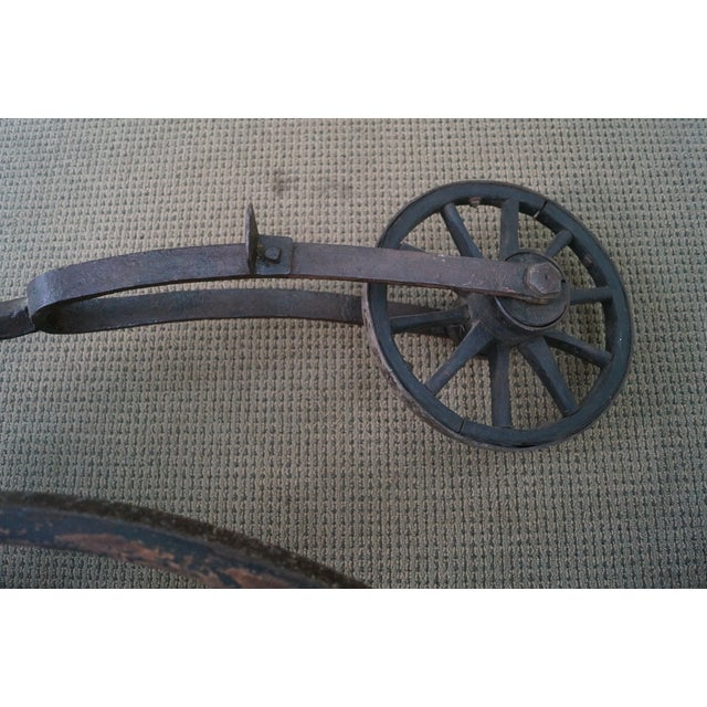 Antique Iron High Wheel Bicycle - Image 9 of 10