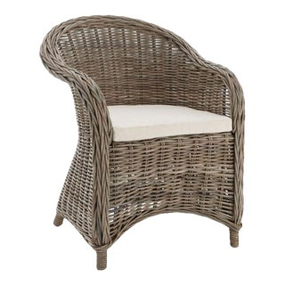 Kennith Ludwig Chicago Normandy Rattan Dining Chair For Sale
