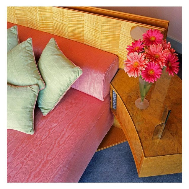 Contemporary Contemporary '50s Interior' Fine Art Photographic Print by Artist Clive Frost - 48x48 For Sale - Image 3 of 3