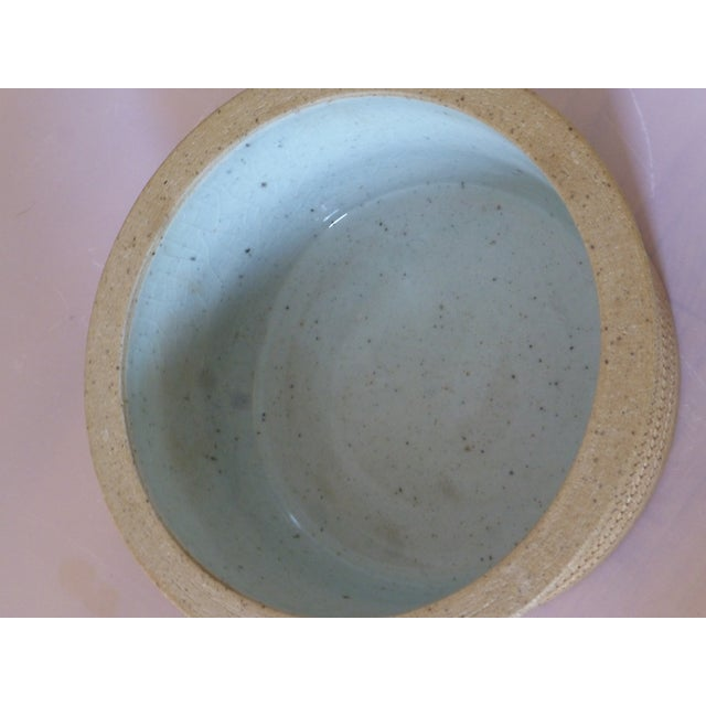 Mid Century Dansk Pottery Bowl by Niels Refsgaard For Sale - Image 11 of 13