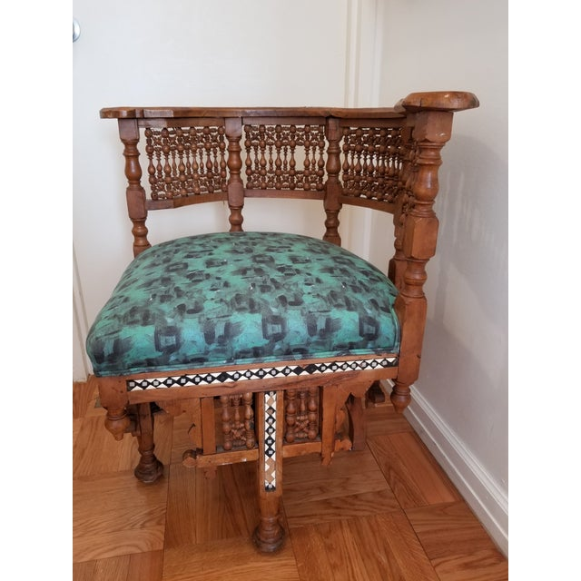 Early 20th Century Moroccan Side Chair For Sale - Image 4 of 12