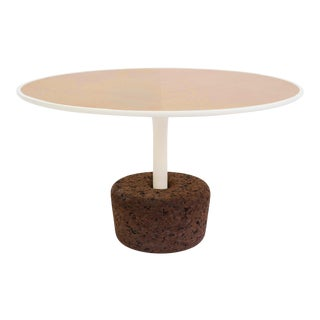 Cork Side Table by Hugo Silva and Joana Santos for DAM For Sale