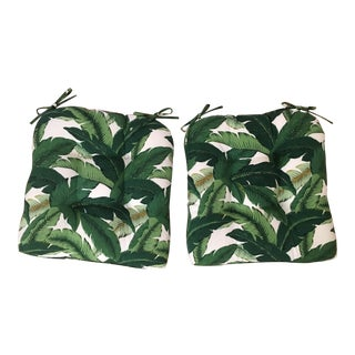 Set/2 Swaying Palms Chair Cushions