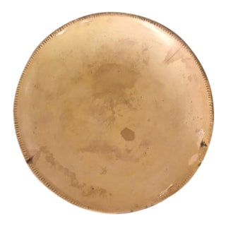 19th Century Antique American Yellowware Pie Plate For Sale