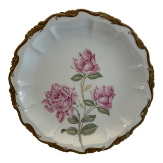 Late 19th Century Antique R. C. Crown Bavaria Plate For Sale